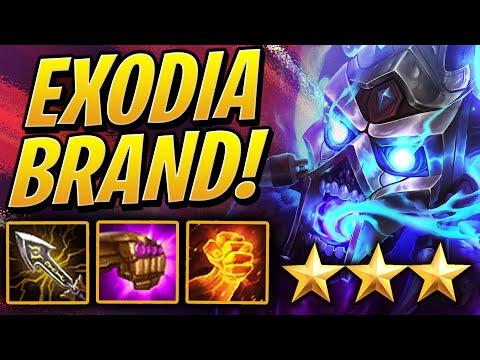 ⭐⭐⭐ 3 STAR EXODIA BRAND w/ 6 INFERNO! | Teamfight Tactics Set 2 | TFT | League of Legends Auto Chess