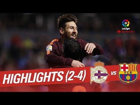 Resumen de RC Deportivo vs FC Barcelona (2-4)