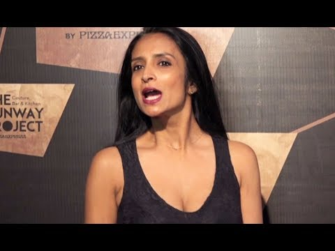 Suchitra Pillai Flaunts Her Cleavage At Red Carpet Of The Runway Project thumbnail