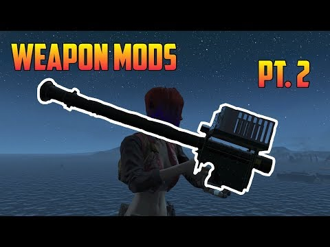 Fallout 4 - 3 COOL WEAPON MODS! (Pt. 2) [Xbox One]