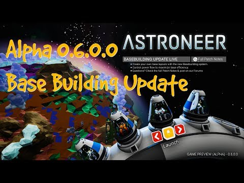 Astroneer (Game Preview) Alpha 0.6.0.0 - #4 Increasing power production