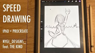 Procreate | Speed Drawing | nygi_designs_ feat. The Kind