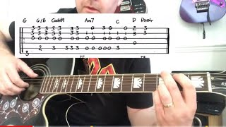 More Than Words - Extreme - Guitar Lesson (Guitar Tab)