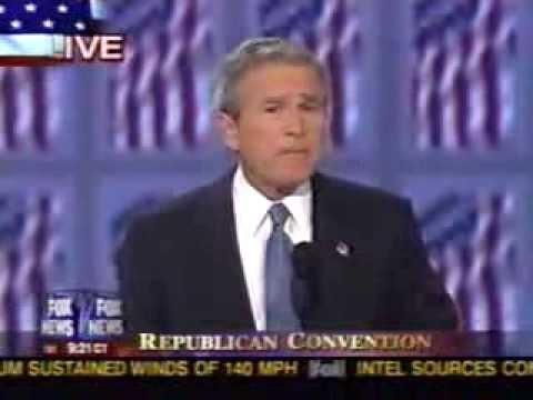 2004 RNC - President George W. Bush Acceptance Speech