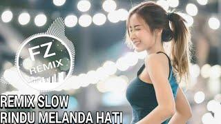 Download DJ RINDU MELANDA HATI JIHAN AUDI REMIX SLOW  FULLBASS 2019