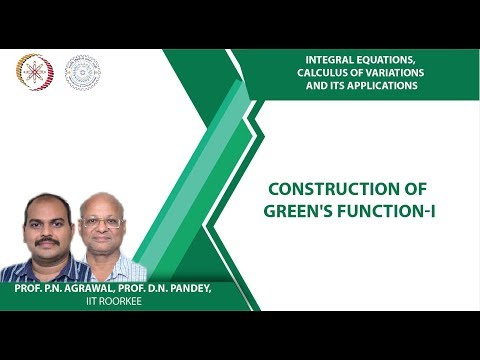 Construction of Green's function-I