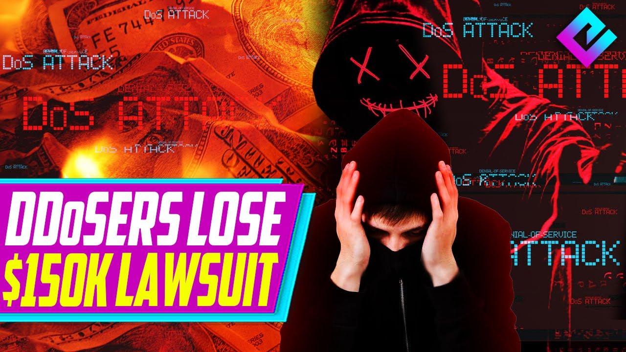 Hackers LOSE $150K Lawsuit for Rainbow Six Siege DDoS