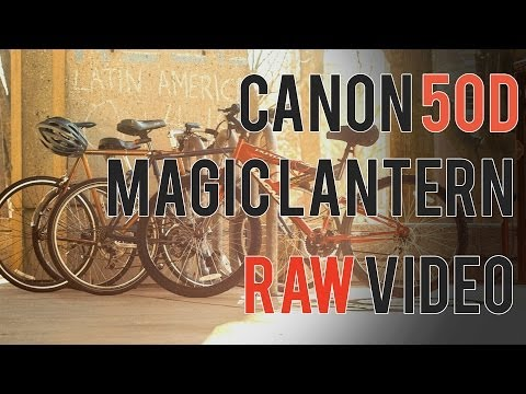 Canon 50D Magic Lantern RAW Review (January 2014)