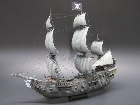 revell-disney-pirates-of-the-caribbean-black-pearl-1/150-scale-model-kit-review-05499