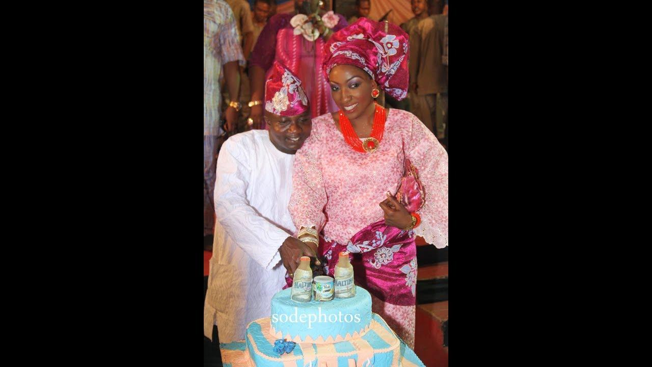 Download Sanyeri Olaniyi's Wedding +All The Kisses! Odunlade Adekola, Toyin Aimakhu, Femi Adebayo &Other