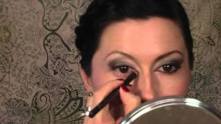 Profesionalno šminkanje - Mačkaste oči - šminka za veče by Bjuti