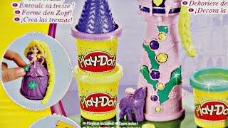 Rapunzel's Tower / Wieża Roszpunki - Disney Princess - Play-Doh  - A7395 - Recenzja