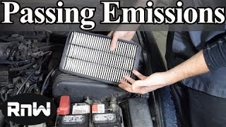 tricks to use to pass an emissions test every time how to pass an emissions test