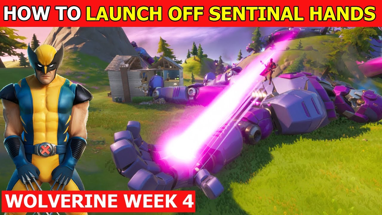 'How to Launch off All Sentinel Hands Without Touching the Ground' Easy Guide! - Wolverine Week 4
