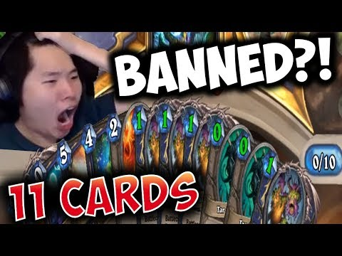 I BROKE HEARTHSTONE ALREADY WITH SHUDDERWOCK! | SHAMAN | THE WITCHWOOD | DISGUISED TOAST