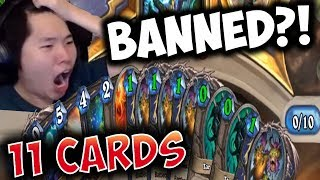 I BROKE HEARTHSTONE ALREADY WITH SHUDDERWOCK! | SHAMAN | THE WITCHWOOD | DISGUISED TOAST thumbnail