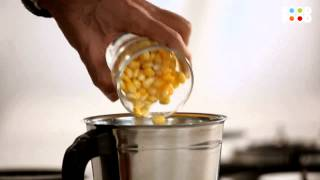 Health Challenge   Sweet Corn Chicken Soup   Episode 3   Quick & Easy Recipes