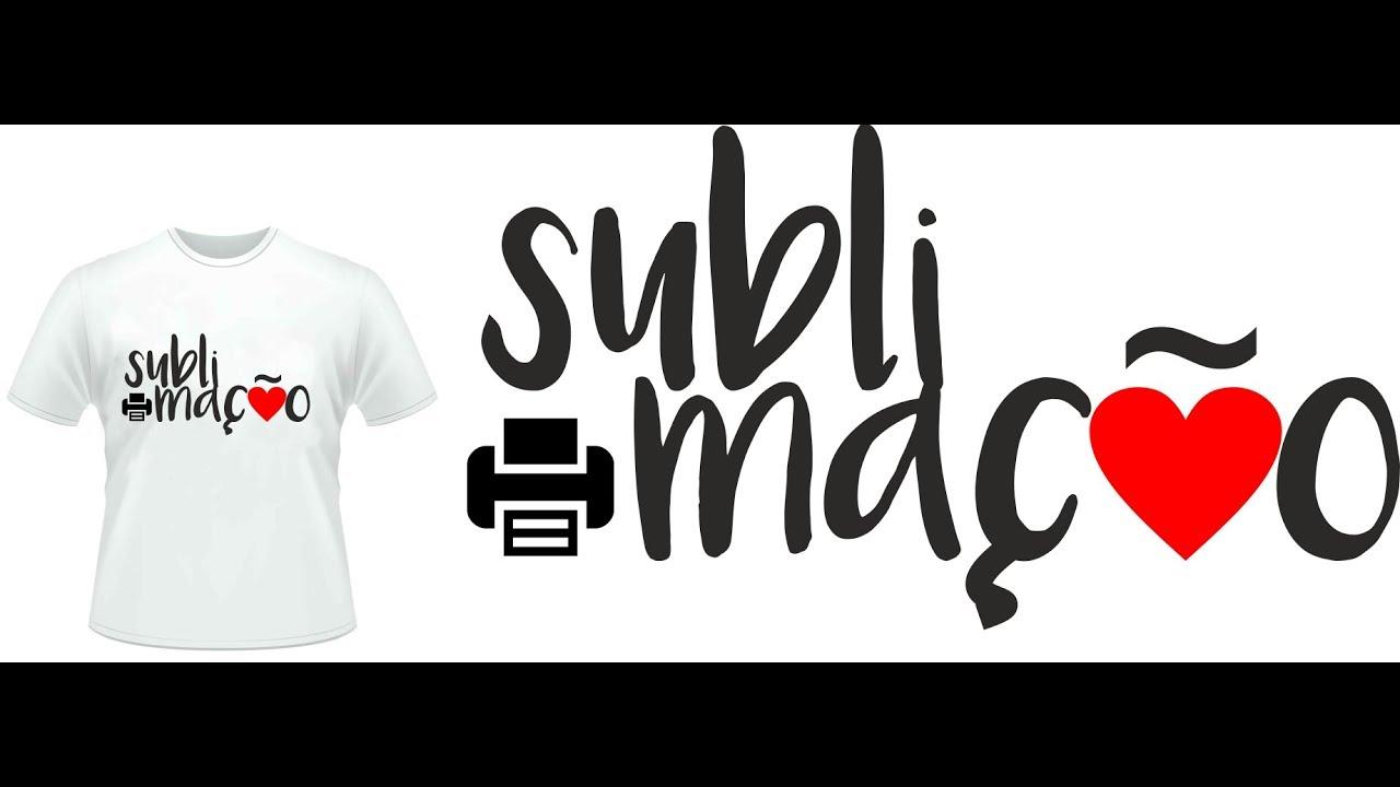 69d185879 Corel Draw - Como criar estampa para camiseta para sublimação - YouTube