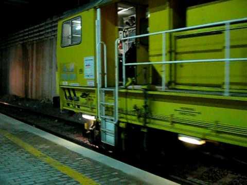 Movimentazione Treno Cantiere Salcef a Roma Tiburtina (Regime Interruzione)