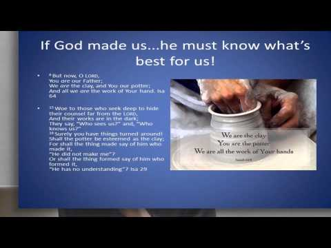 Why we need God in our lives: Mr Paul Thornton Christadelphians