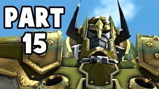 Let's Play Knack #15 Deutsch PS4 Gameplay - Gundahars Roboter