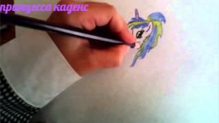 Запрос: рисую дочь твайлайт и флеша