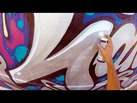 Graffiti  Rake43  Silver on the Street