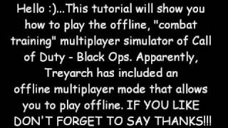 Call of Duty - Black Ops Call MP Crack*****