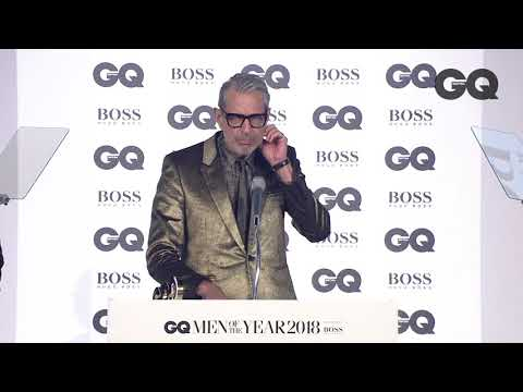 Jeff Goldblum: 'Tom Hiddleston, a very tender lover'  GQ Awards 2018 British  GQ