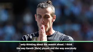 Zidane says Bale will stay and he is happy with his performance against Celta