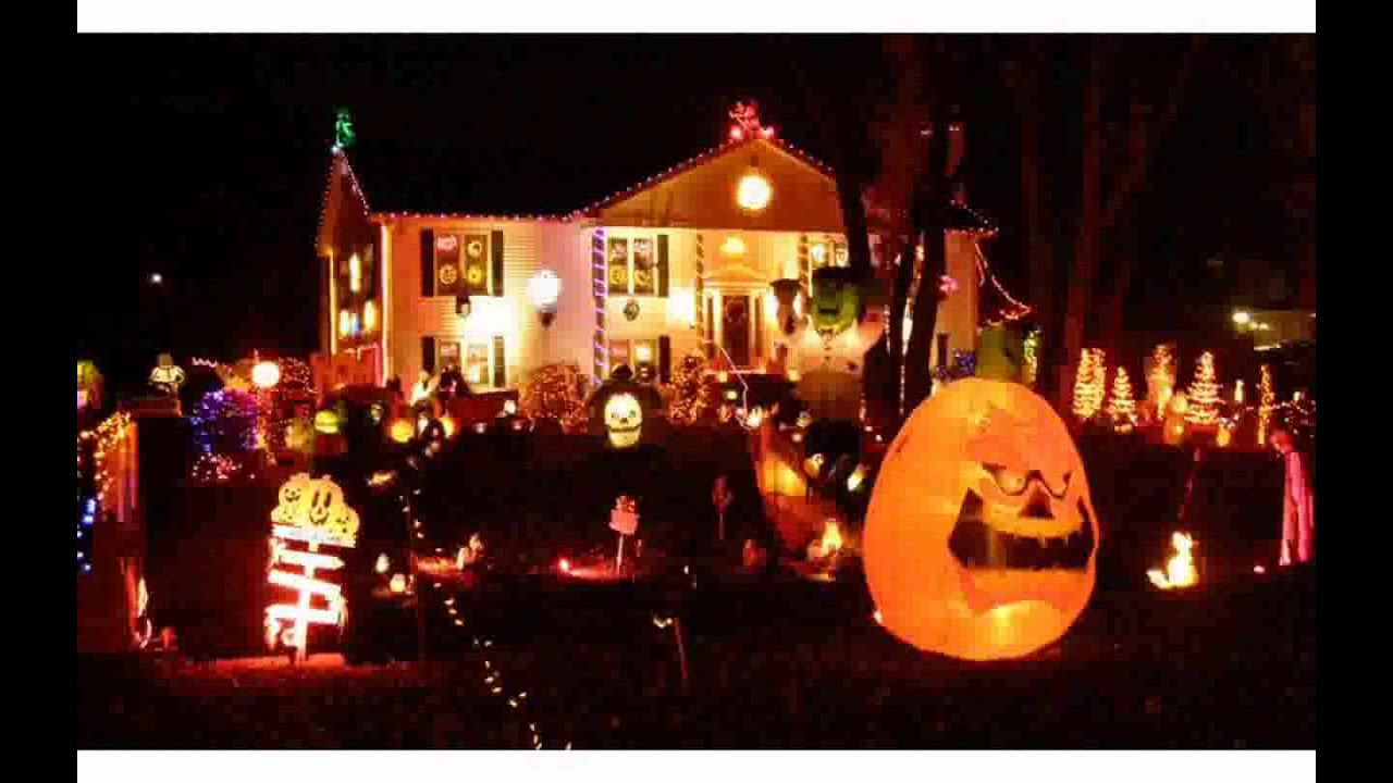 Outdoor halloween decorations for trees - Halloween Outdoor Tree Decorations Design Pictures