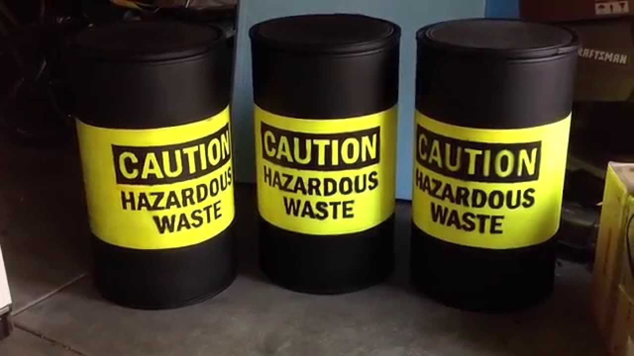 Toxic Waste Barrels Part 2 - YouTube