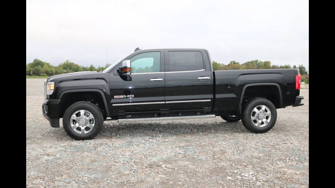 2015 GMC Sierra 2500HD SLT All-Terrain Z71 4X4 Onyx Black ...