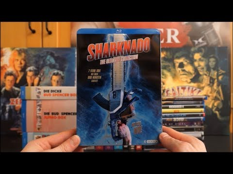 SHARKNADO 1-4 (DT Blu-ray Collection) / Zockis Sammelsurium Nr. 901 streaming vf