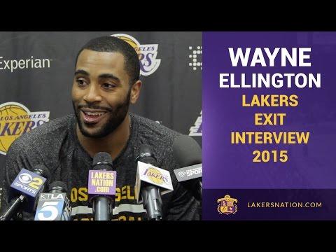 Lakers Exit Interviews 2015: Wayne Ellington Wants To Remain A ...
