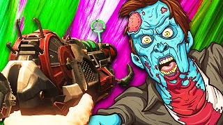AFK TROLLING IN CALL OF DUTY ZOMBIES! (Black Ops 3)