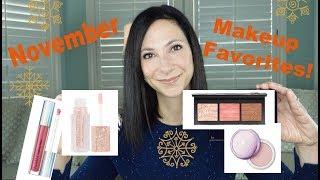 November Makeup and Beauty Favorites