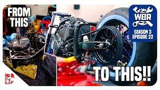 From Torn Apart Engine To Full Roller [Wrecked Bike Rebuild - Ep 22 - Vstar 1300 Bobber]