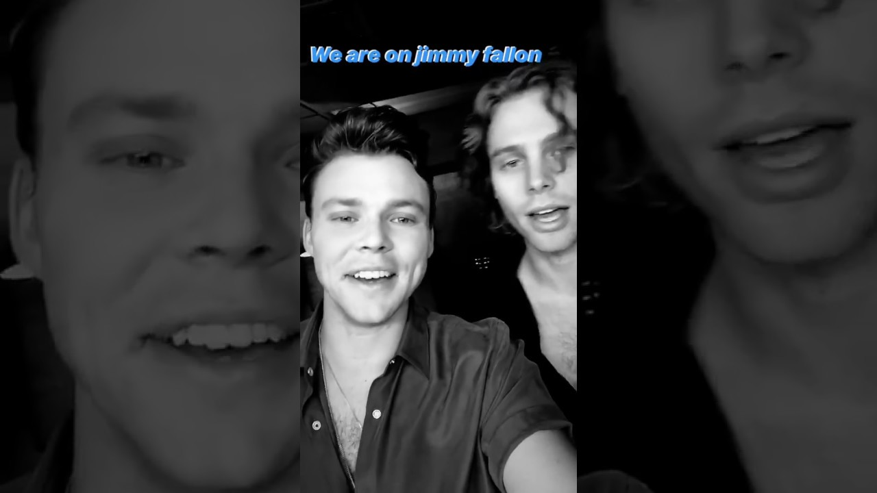 We Are On Jimmy Fallon 5 Seconds Of Summer Via Story