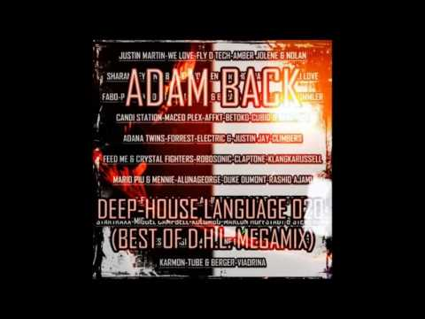 Adam Back - Deep-House Language 020 (20-07-2013)(Best Of D.H.L. Megamix)