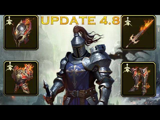 Flamebringer Vs Icelord +5 Vs Deathseeker +5 - Equipment comparison - king of Avalon KOA #1