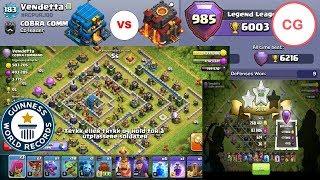 TH10 LEGEND League Guide vs TH12 6000 🏆 | TOP 3 Attacks Episode 1 | Clash of Clans | Clash Guide
