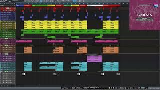 Dance Pop Studio One Template Grooves