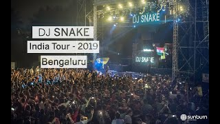 DJ Snake India Tour 2019 | Sunburn Arena | Bengaluru
