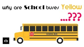 Why Are School Buses Yellow ?