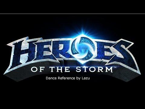 Heroes of the Storm Dance reference: Thrall Jaina Anub`arak Rehgar Tychus Muradin Kerrigan #1