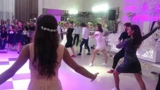 Грузинская свадьба с грузинскими танцами. ქართული ქორწილი, ქართული ცეკვით.
