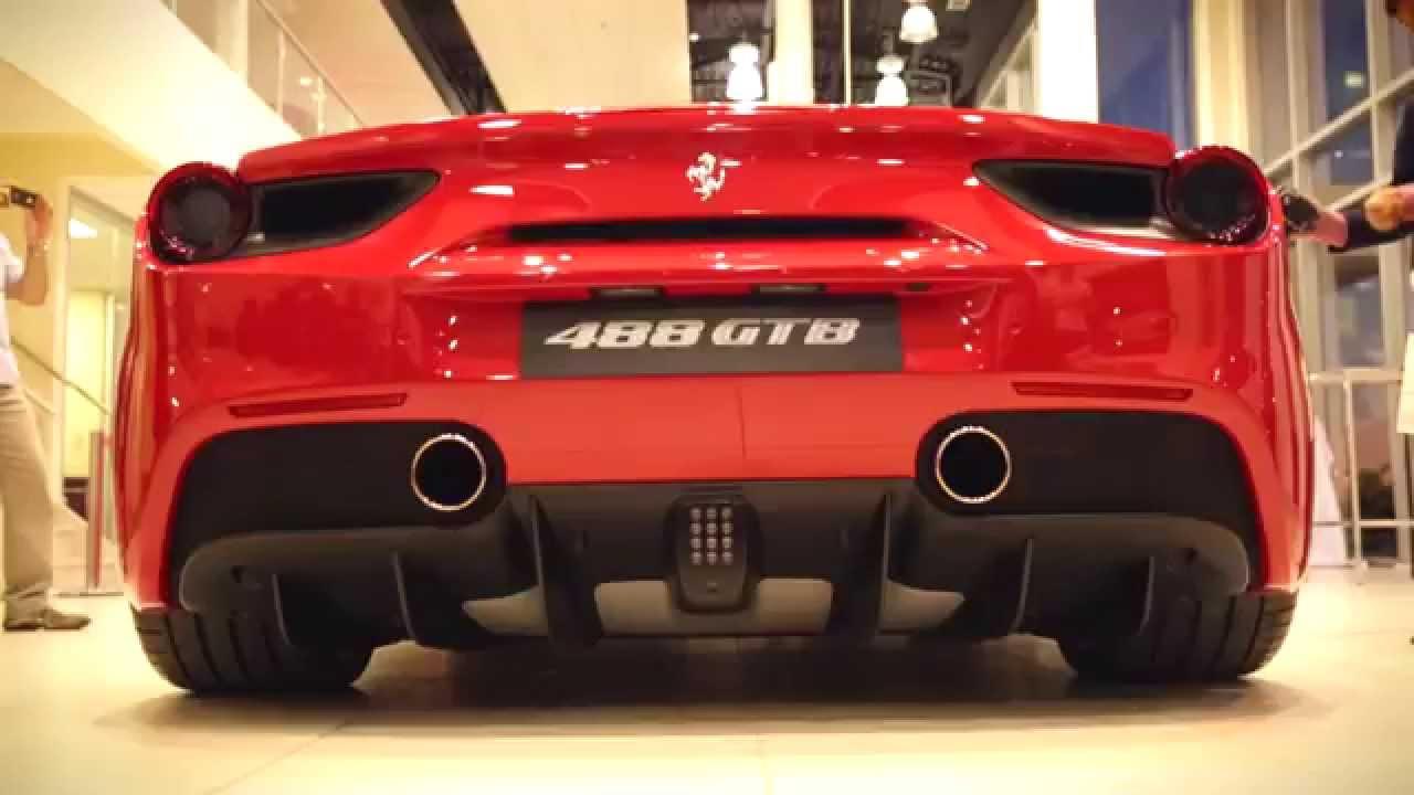 Ferrari 488 Gtb Launch Party At Ferrari Maserati Of Ontario Youtube