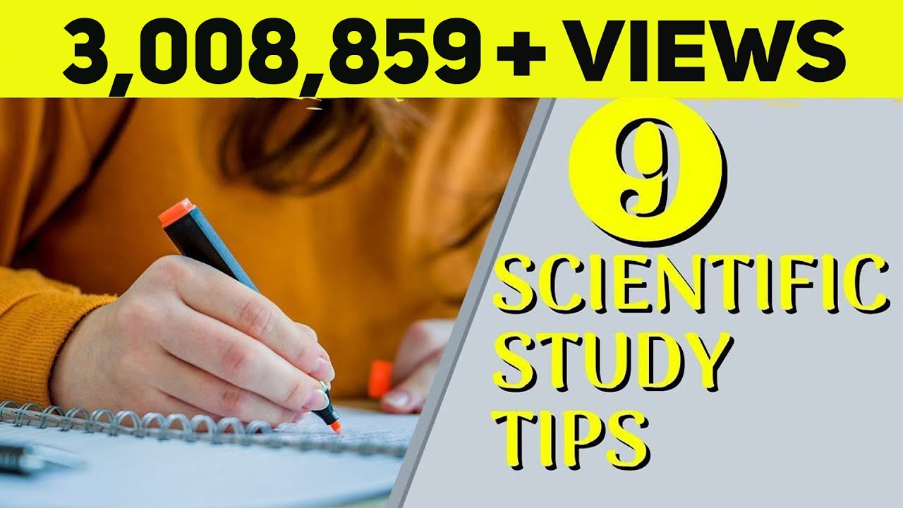 Download 9 Best Scientific Study Tips | Exam Study Tips for Students | Letstute