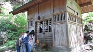 上野原市・軍刀利神社の大桂の四季